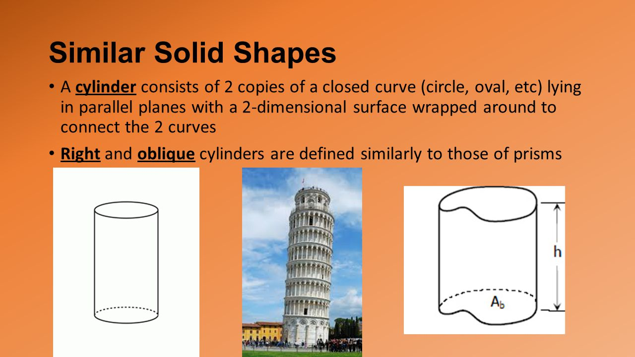 Similar Solid Shapes