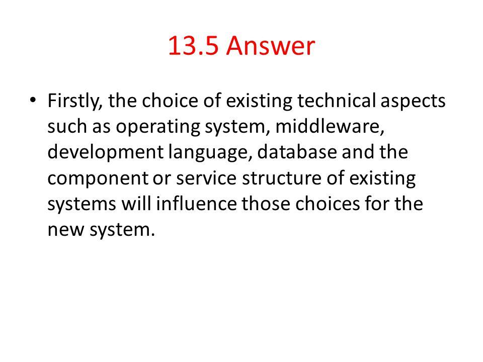 13.5 Answer