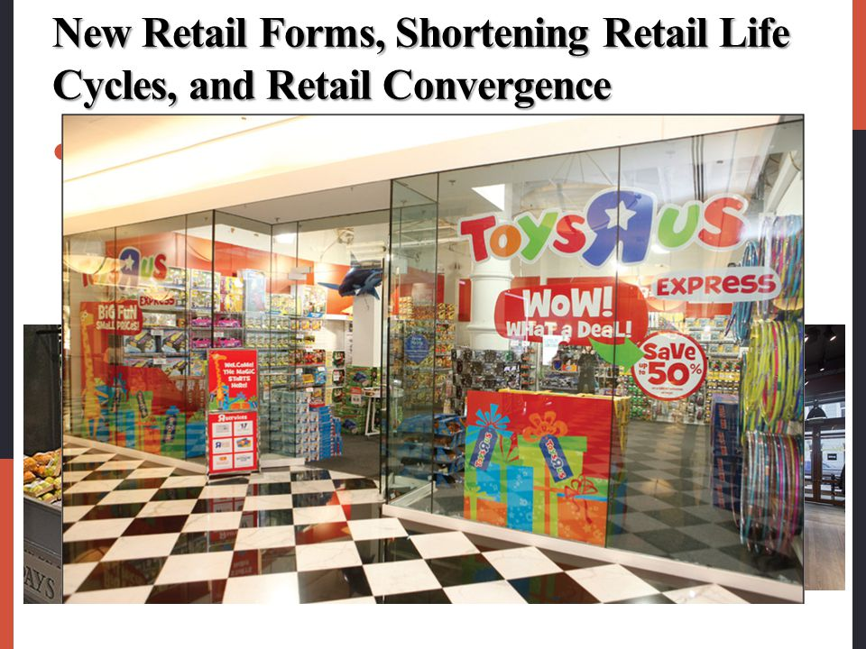 New Retail Forms, Shortening Retail Life Cycles, and Retail Convergence