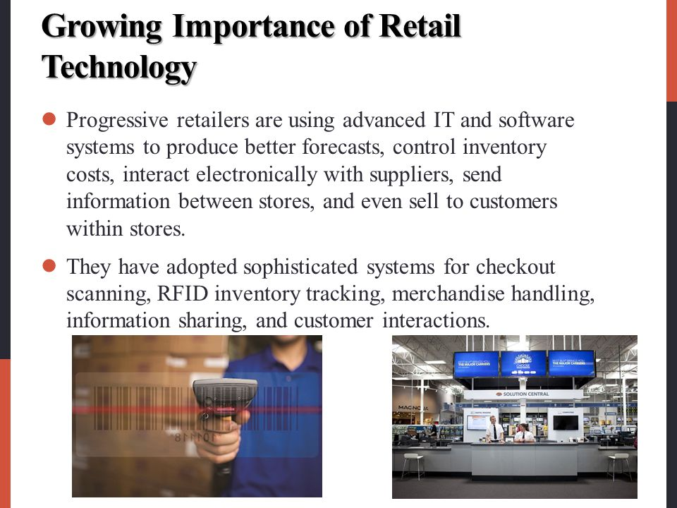 Growing Importance of Retail Technology