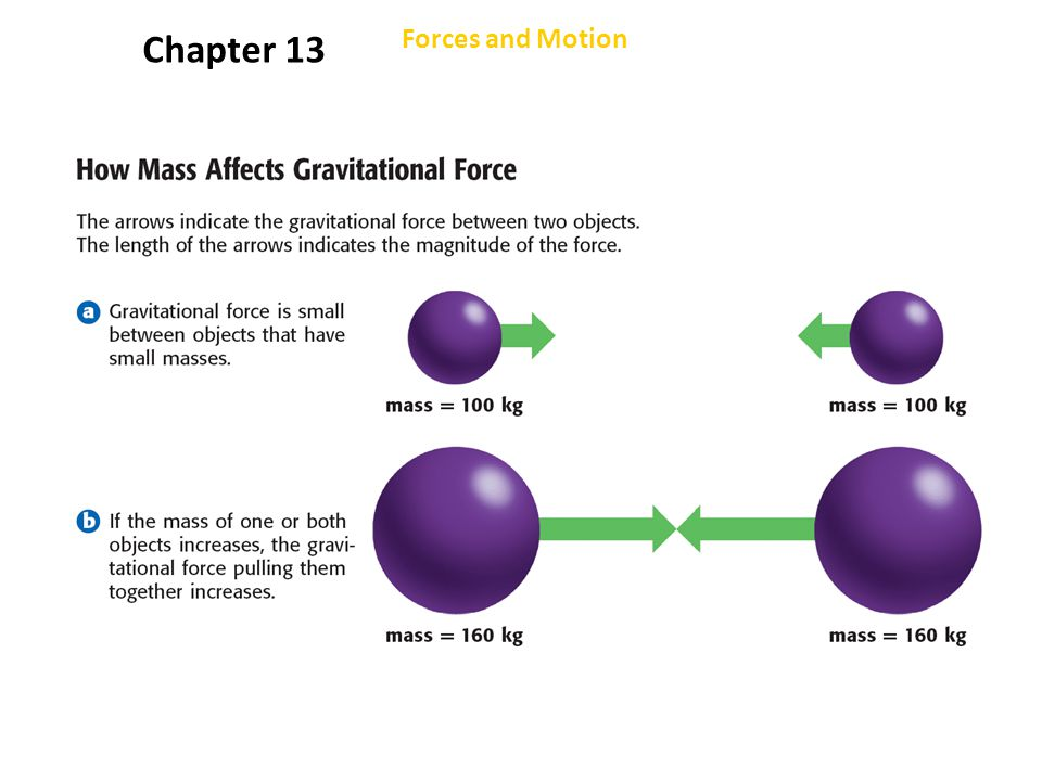 Chapter 13 Forces and Motion