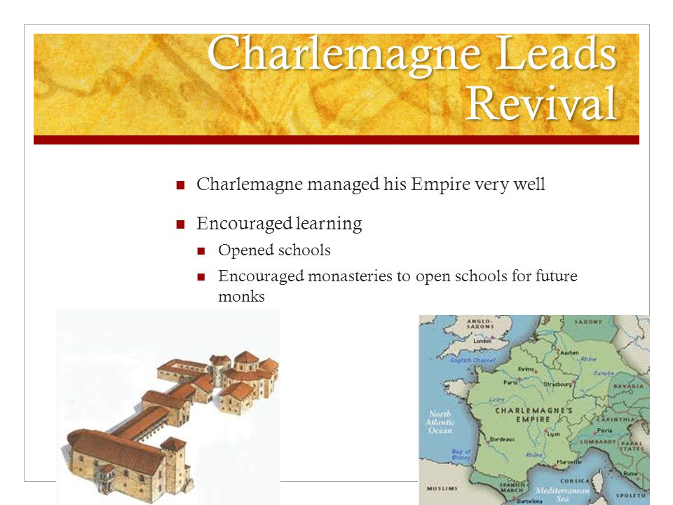 Charlemagne Leads Revival