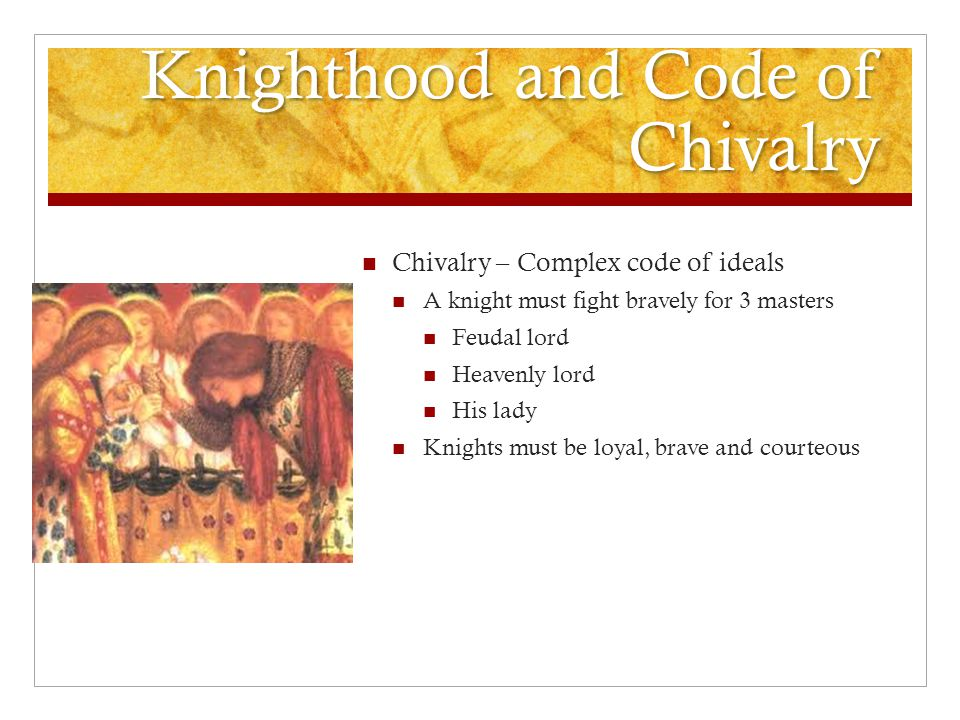 Knighthood and Code of Chivalry