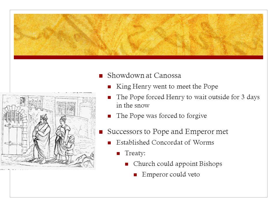 Successors to Pope and Emperor met