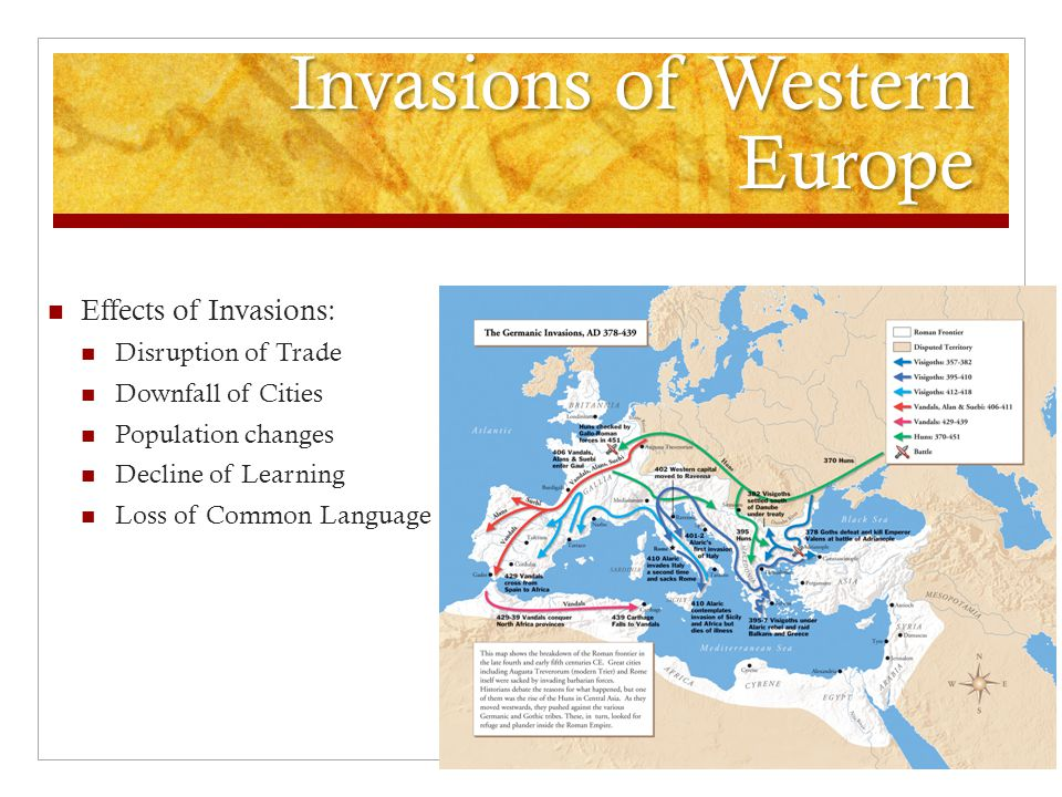Invasions of Western Europe