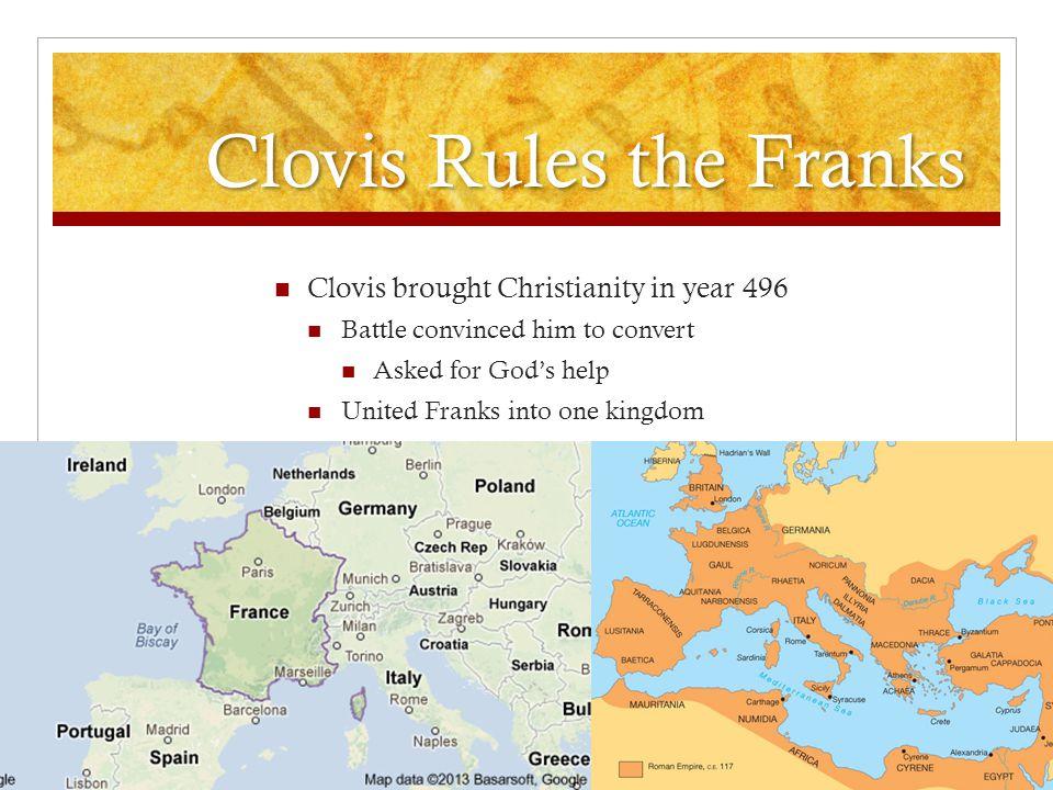 Clovis Rules the Franks