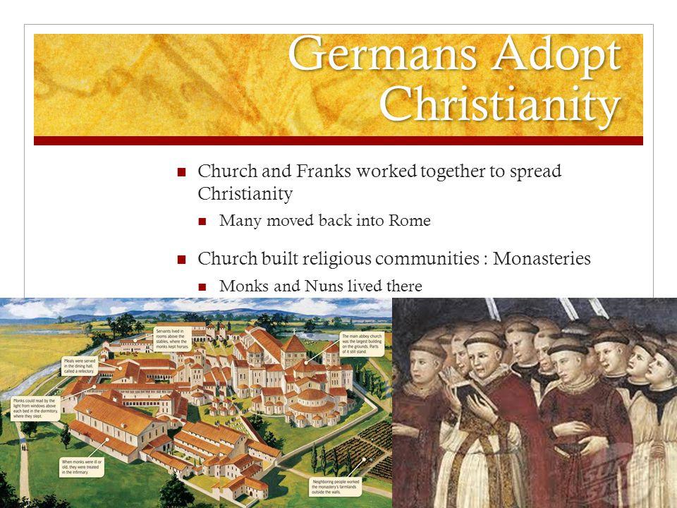 Germans Adopt Christianity
