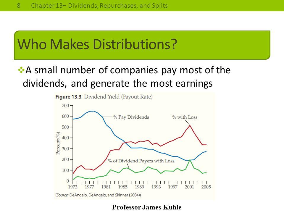 Who Makes Distributions