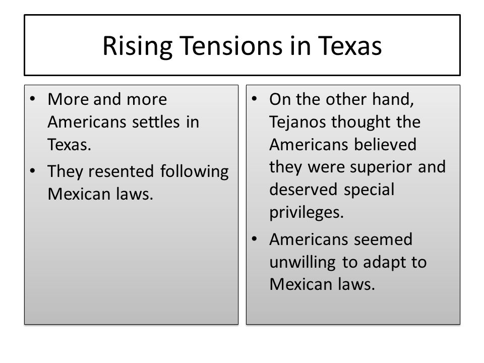 Rising Tensions in Texas