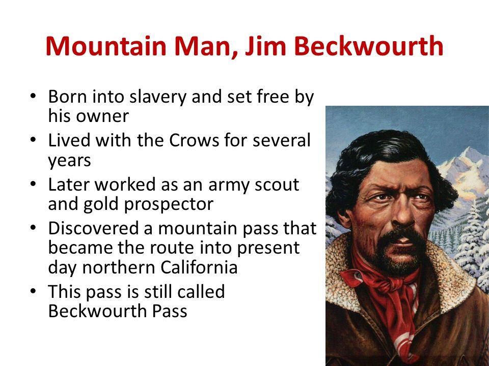 Mountain Man, Jim Beckwourth