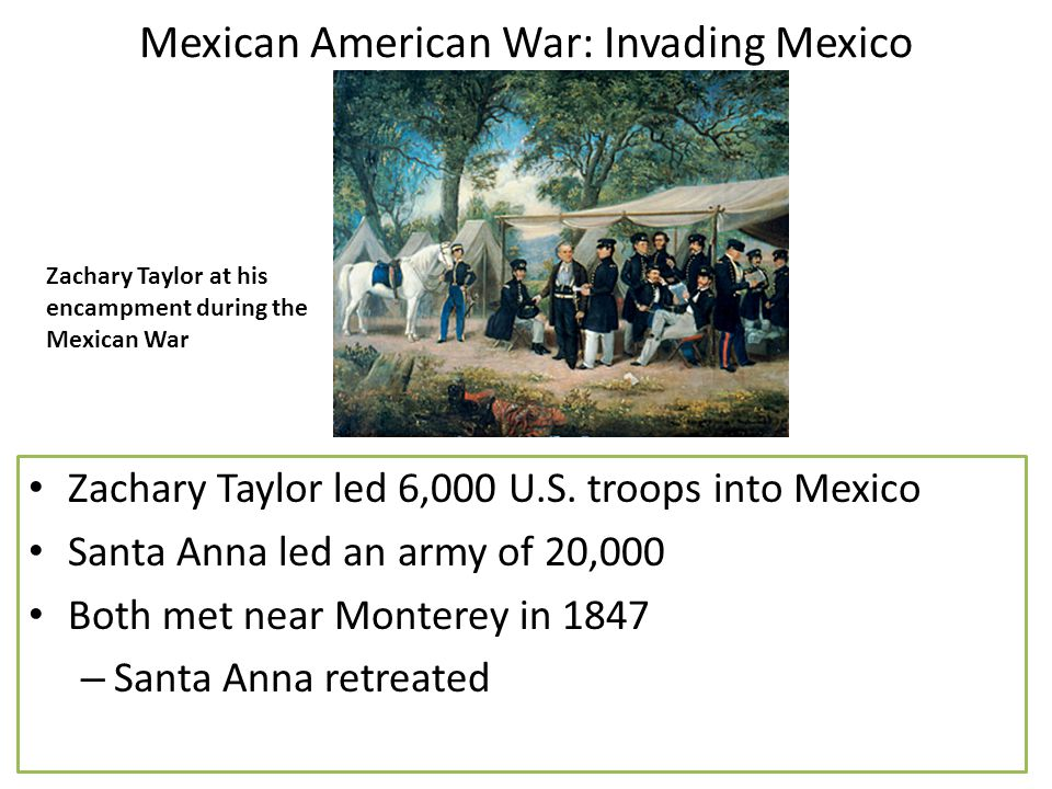 Mexican American War: Invading Mexico