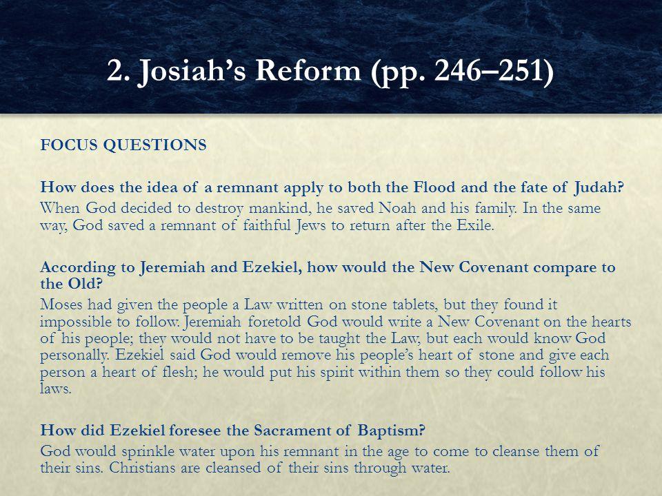 2. Josiah's Reform (pp. 246–251)