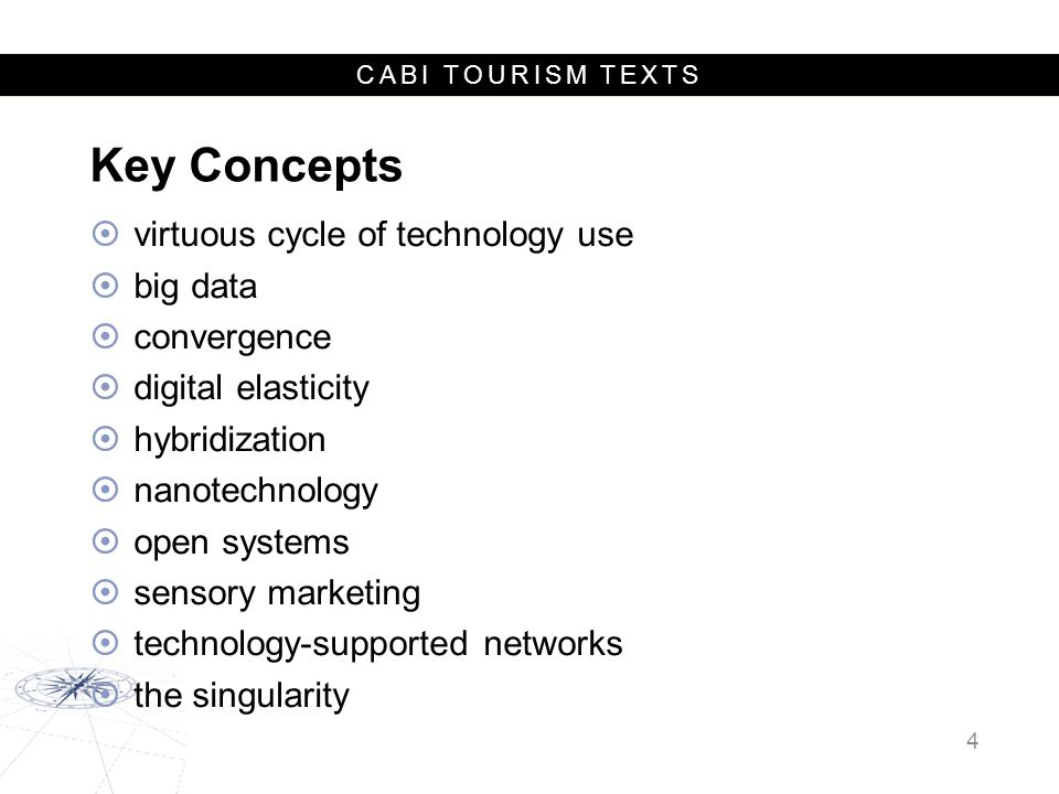 Key Concepts virtuous cycle of technology use big data convergence