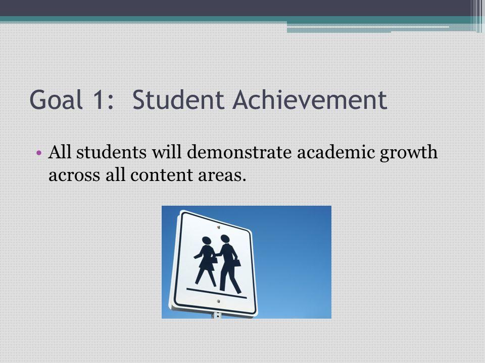 Goal 1: Student Achievement
