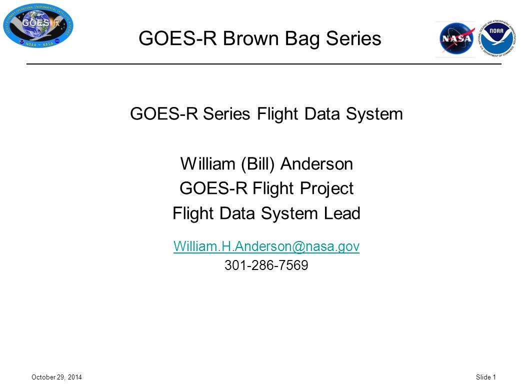 GOES-R Brown Bag Series