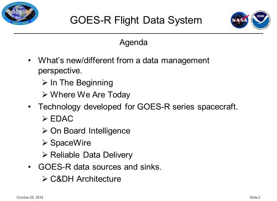 GOES-R Flight Data System