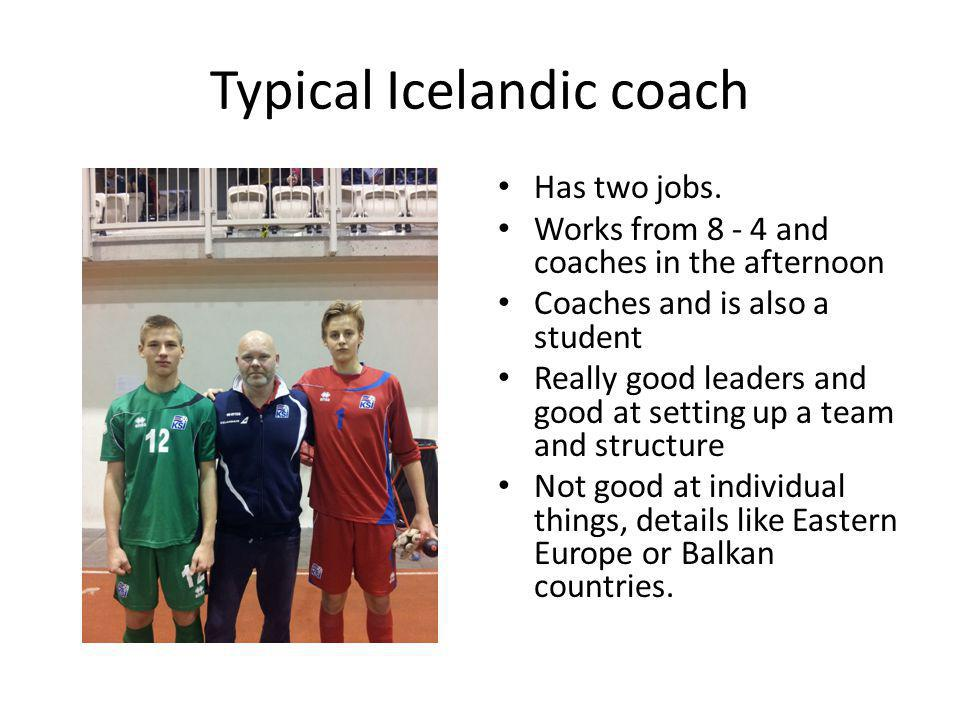 Typical Icelandic coach