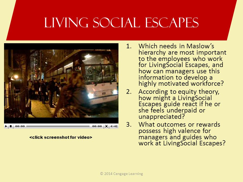 Living Social Escapes