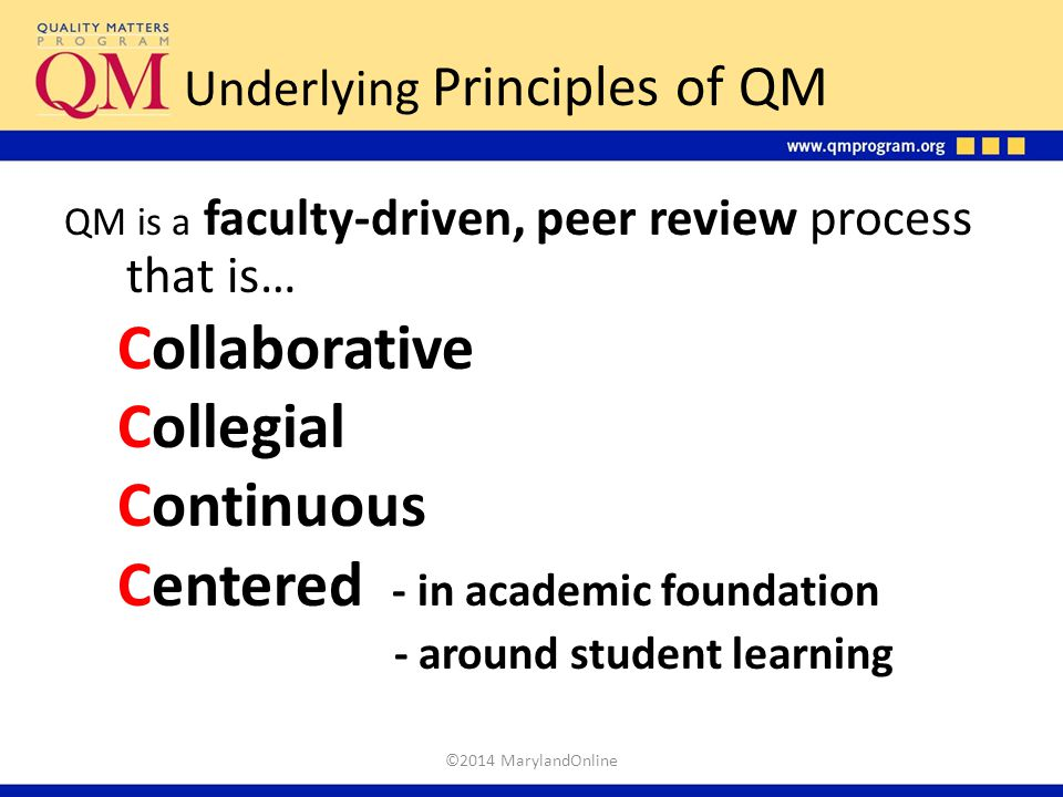 Underlying Principles of QM