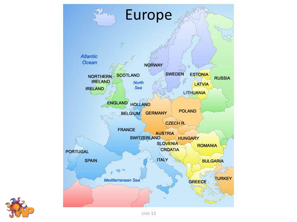 Europe Unit 13