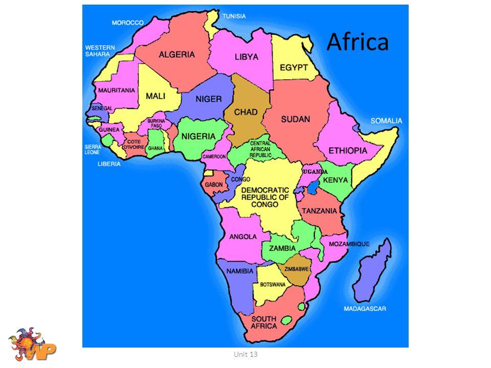 Africa Unit 13
