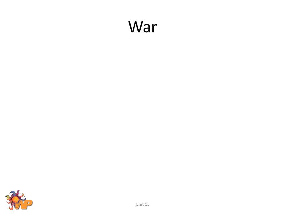 War Unit 13