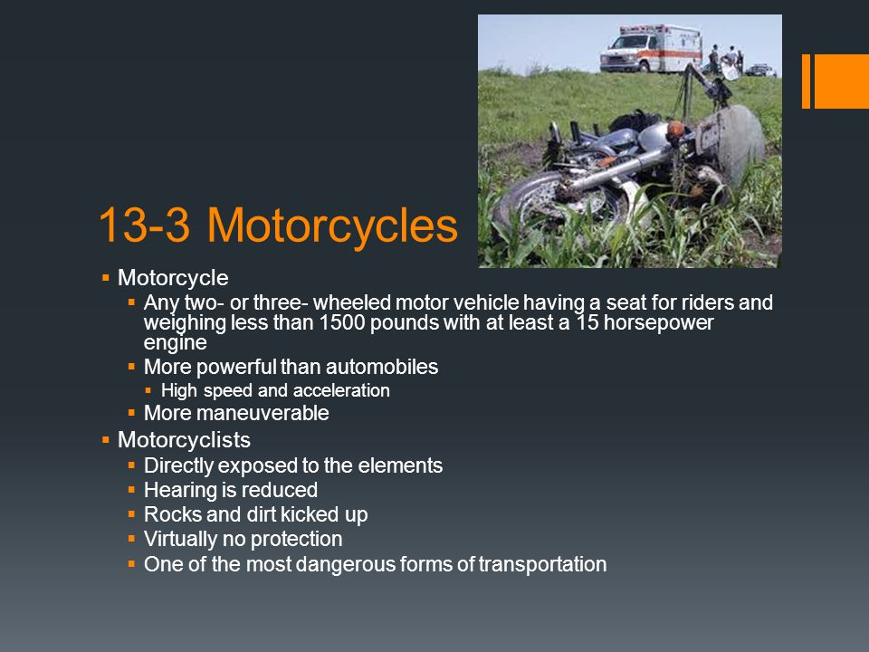 13-3 Motorcycles Motorcycle Motorcyclists