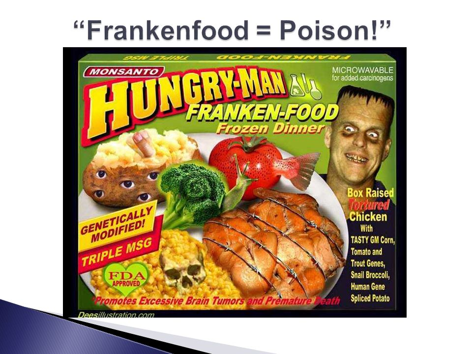 Frankenfood = Poison!