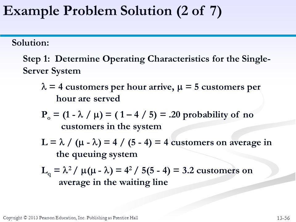Example Problem Solution (2 of 7)