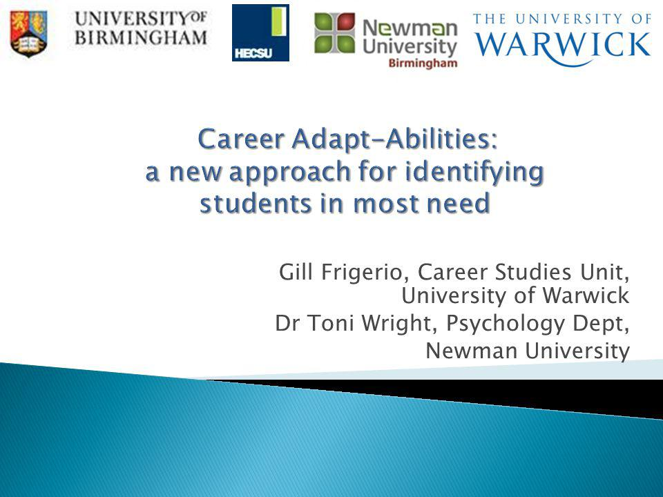 Career Adapt-Abilities: a new approach for identifying students in most need