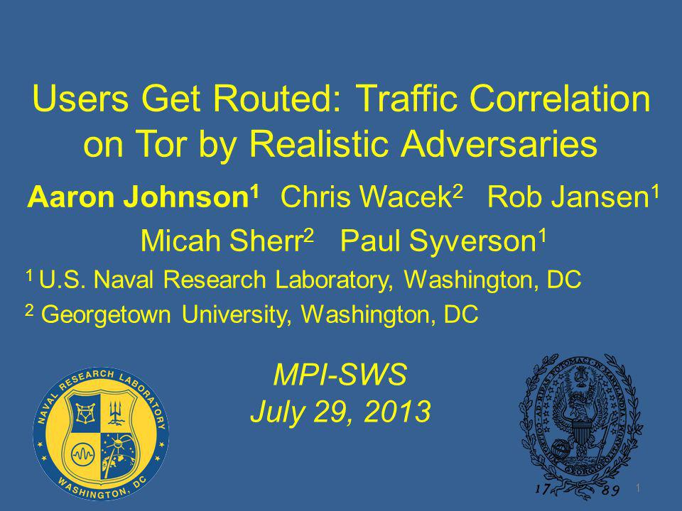 Users Get Routed: Traffic Correlation on Tor by Realistic Adversaries