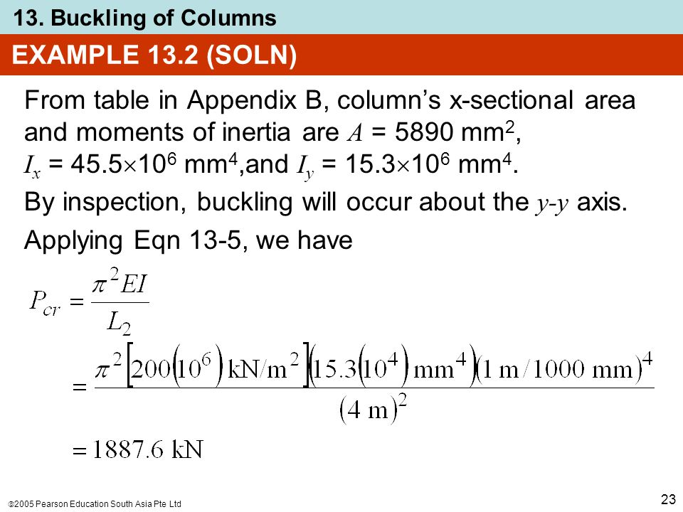 EXAMPLE 13.2 (SOLN)