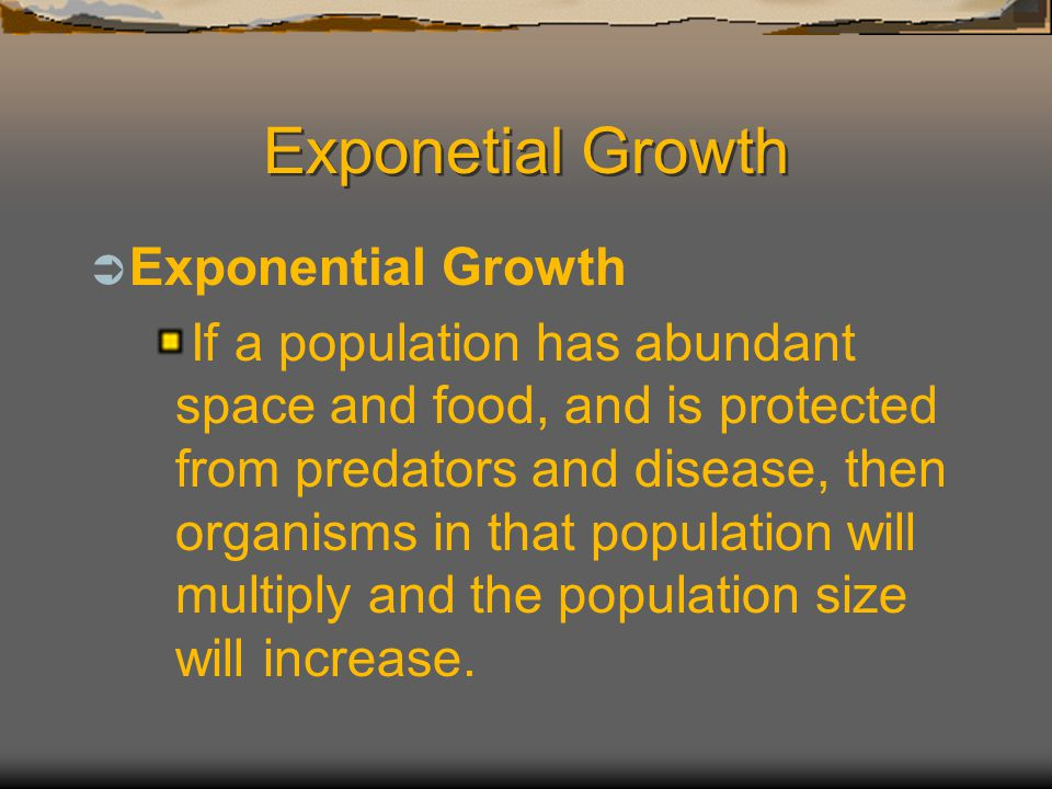 Exponetial Growth Exponential Growth