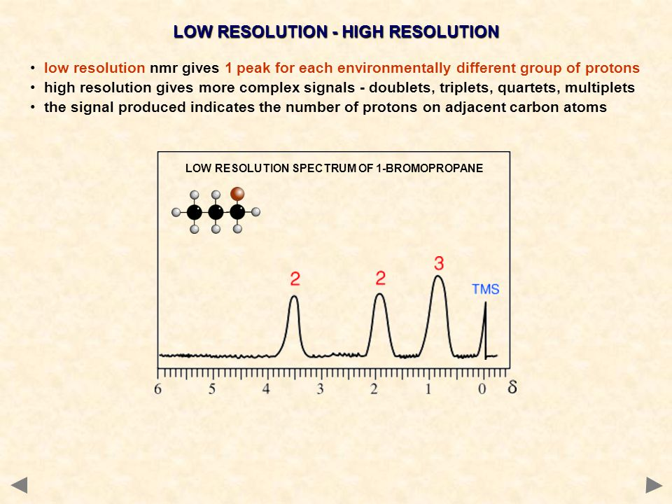 LOW RESOLUTION - HIGH RESOLUTION
