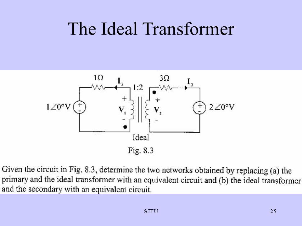 The Ideal Transformer SJTU