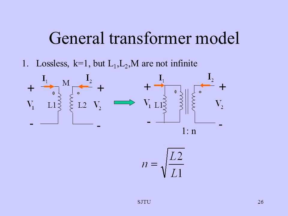 General transformer model