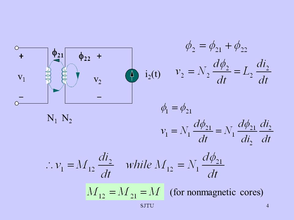 (for nonmagnetic cores)