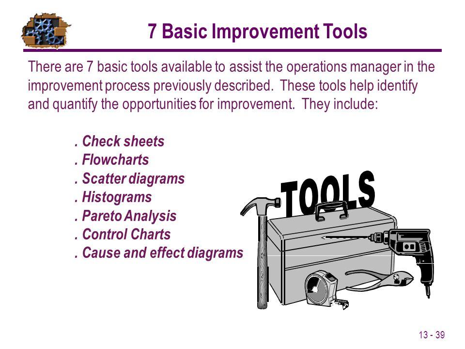 7 Basic Improvement Tools