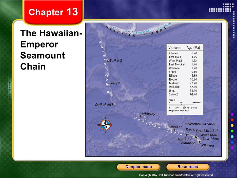 The Hawaiian-Emperor Seamount Chain
