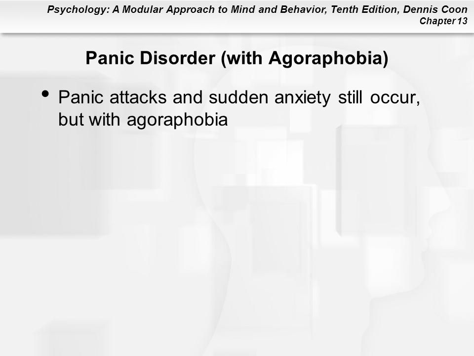Panic Disorder (with Agoraphobia)