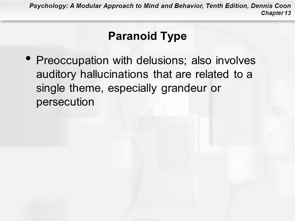 Paranoid Type