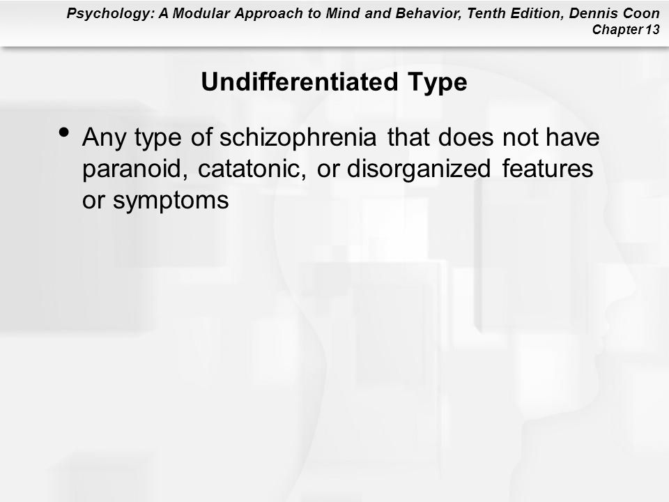 Undifferentiated Type