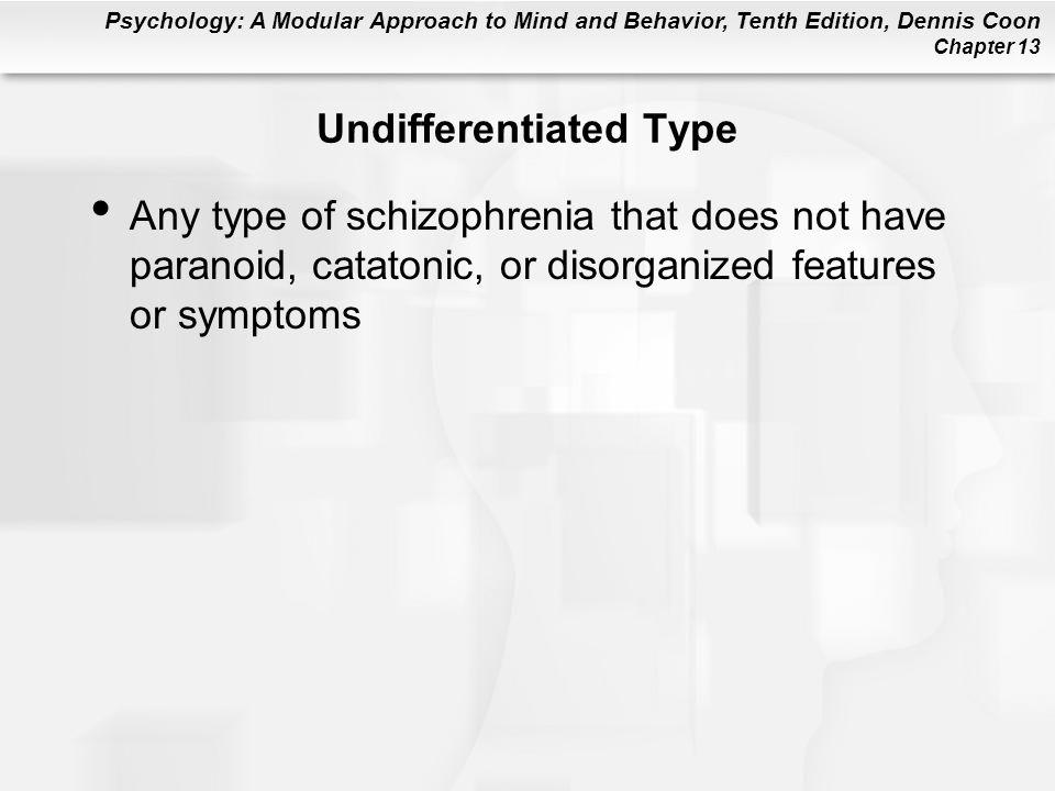 Undifferentiated Type