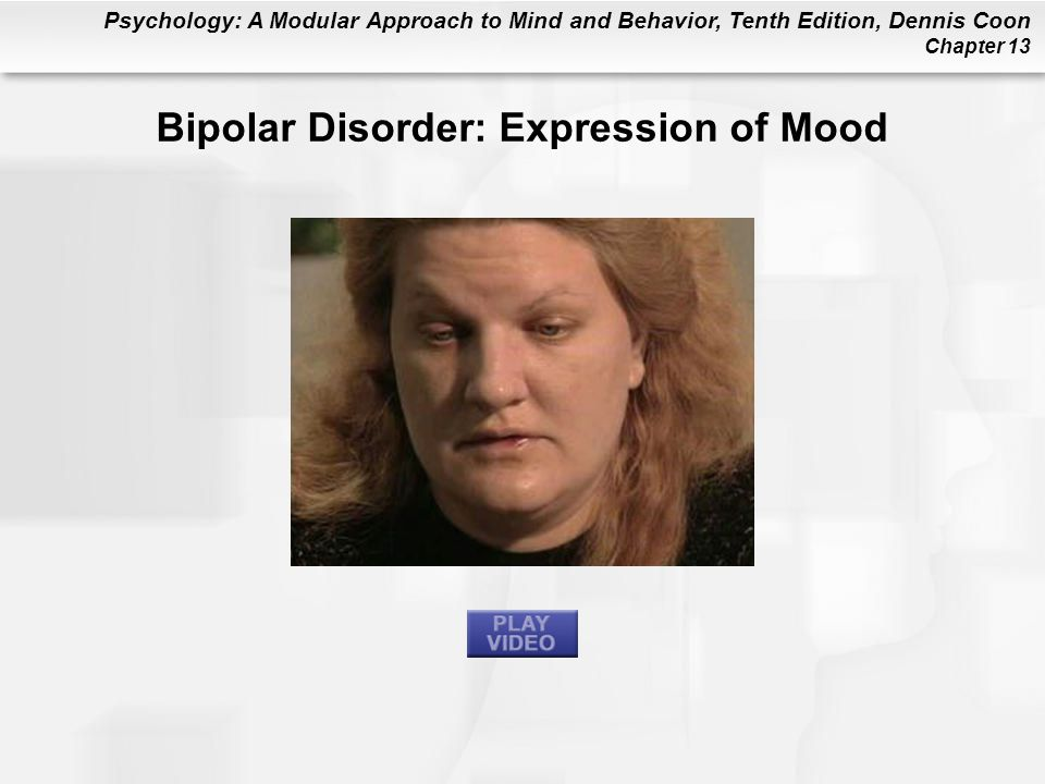 Bipolar Disorder: Expression of Mood