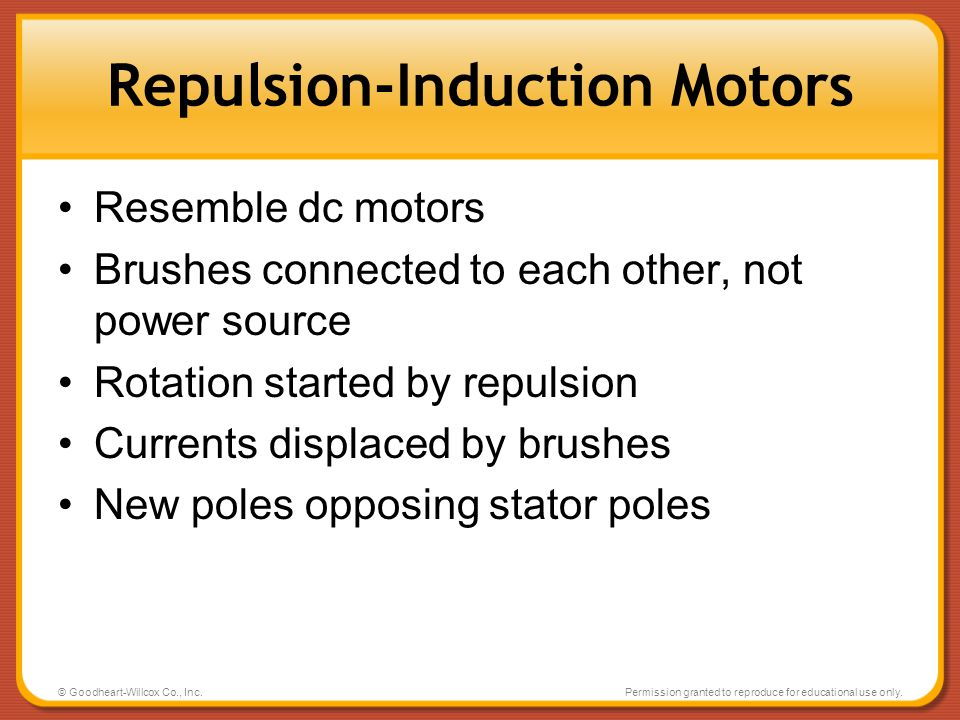 Repulsion-Induction Motors