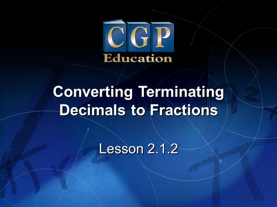 Converting Terminating