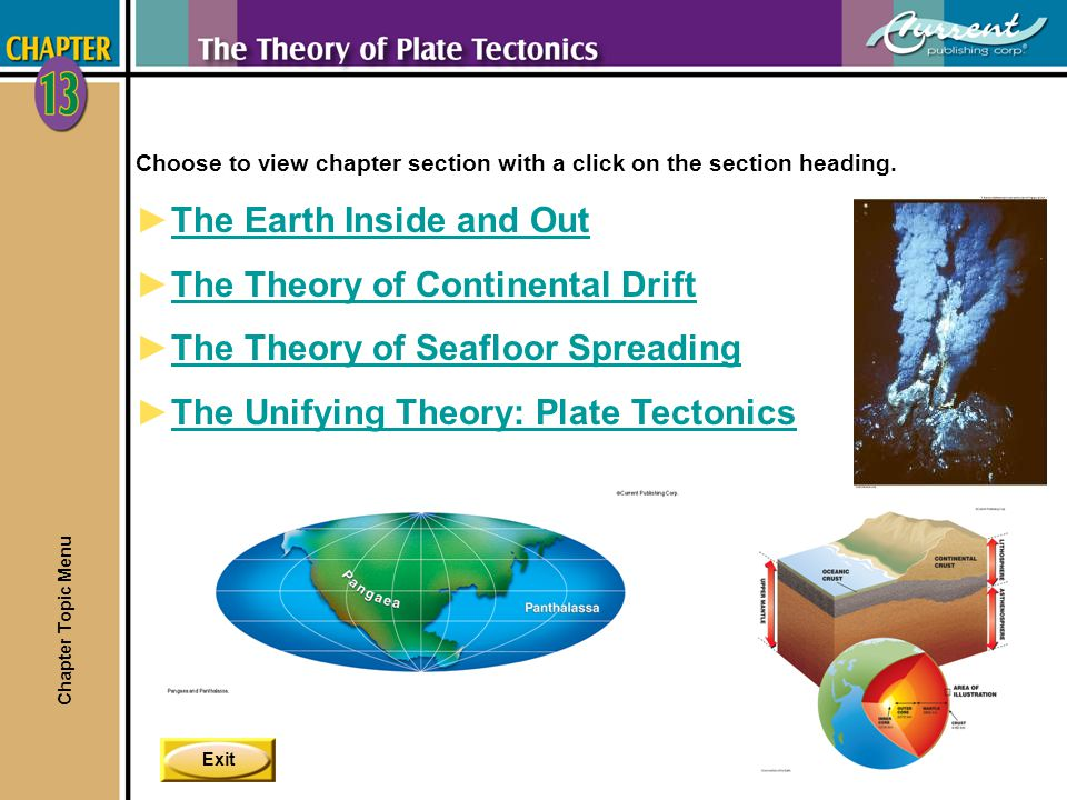 The Earth Inside and Out The Theory of Continental Drift