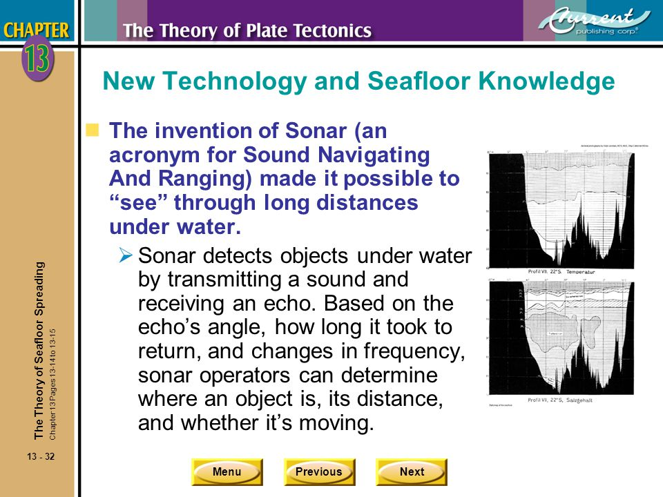 New Technology and Seafloor Knowledge