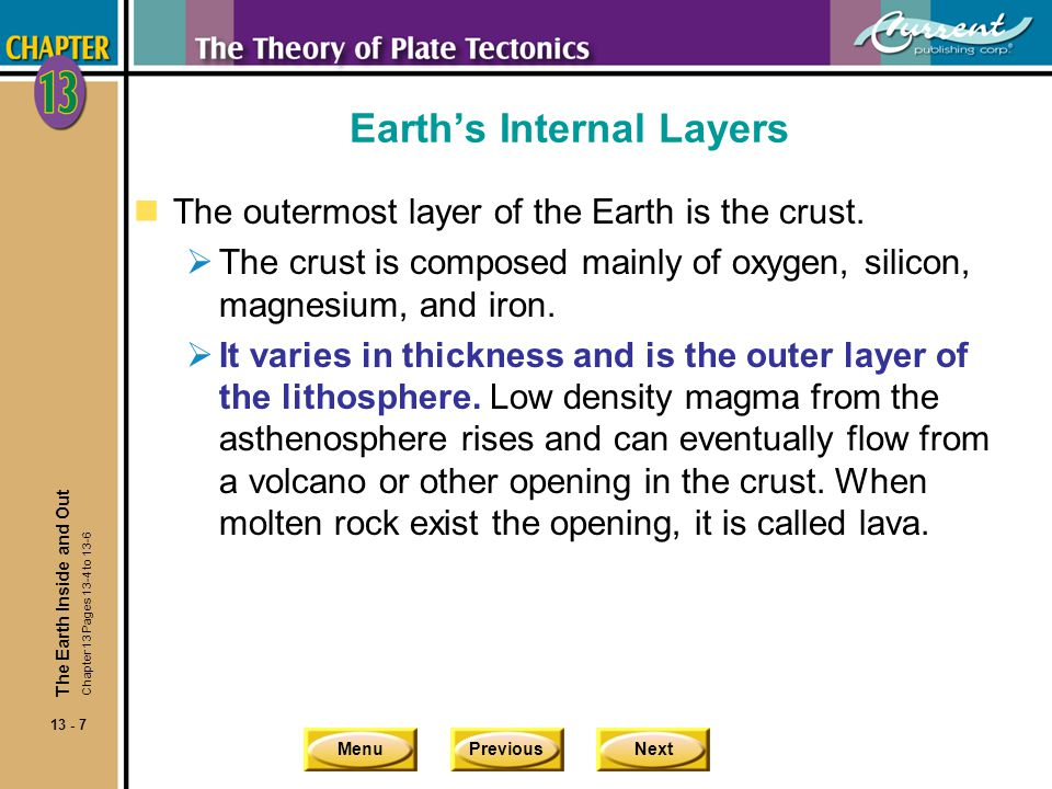 Earth's Internal Layers