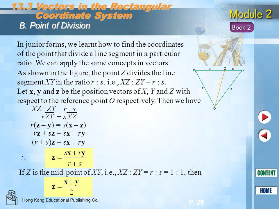 13.3 Vectors in the Rectangular Coordinate System